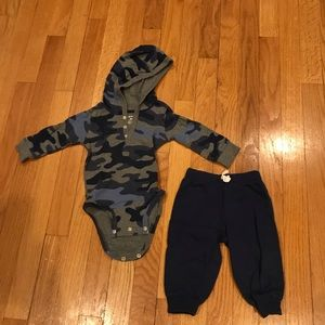 9 months carters boy's outfit